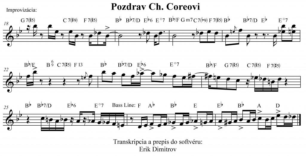Dimitrov3Pozdrav Ch. Coreovi impro