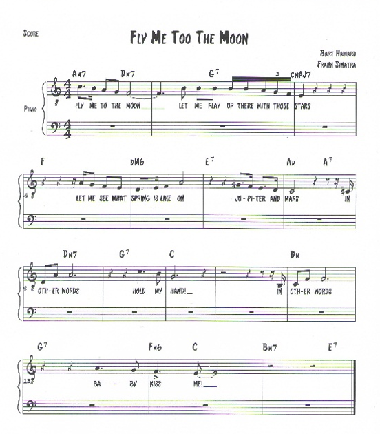 "Fly Me to the Moon ""in Other Words"": Diana Krall, Nat King Cole and"